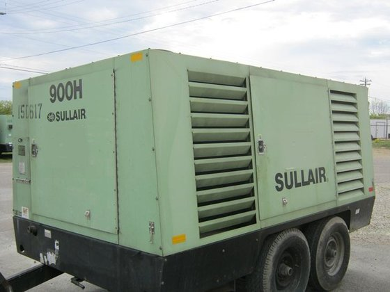 2005 SULLAIR 900HDTQ Air compressors