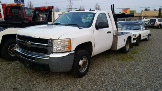 2008 CHEVROLET SILVERADO 3500HD WRECKER