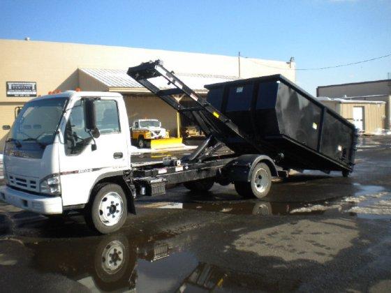 2007 ISUZU NRR Dump truck