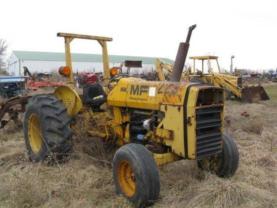 MASSEY FERGUSON INDUSTRIAL 40B Tractors