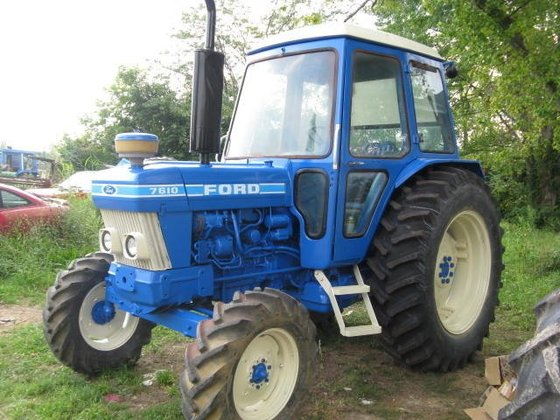 1983 FORD 7610 Tractors in