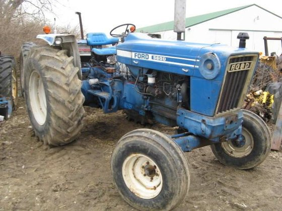 1980 FORD 5600 Tractors in