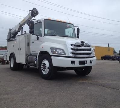 2016 HINO 268A CONTRACTOR TRUCK