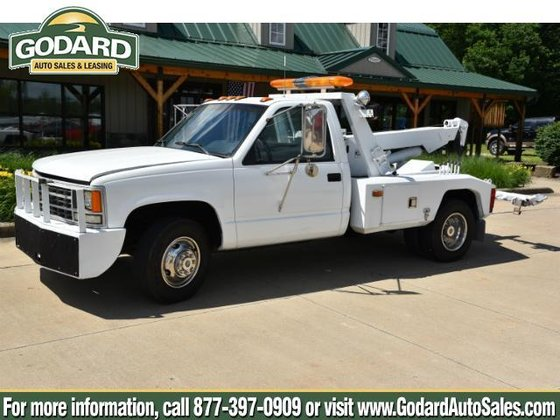 1990 CHEVROLET 3500 CHASSIS-CABS WRECKER