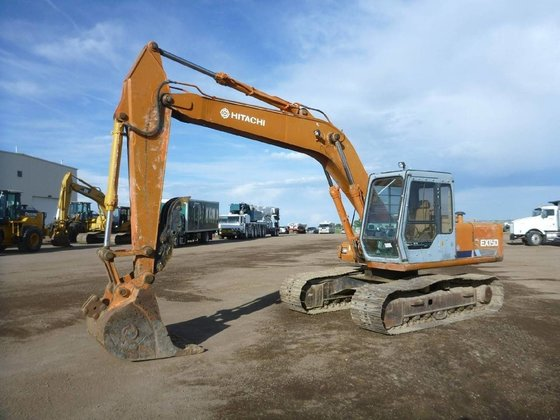 1991 HITACHI EX-150 Excavators in