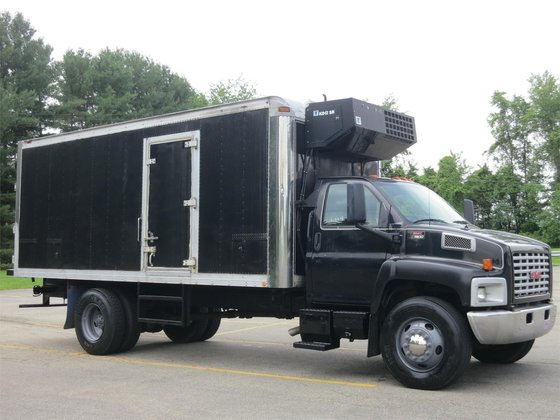 2003 GMC TOPKICK C7500 Refrigerated