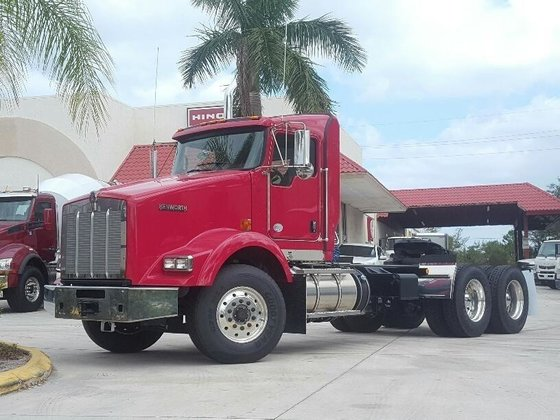2015 KENWORTH T800 CAB CHASSIS