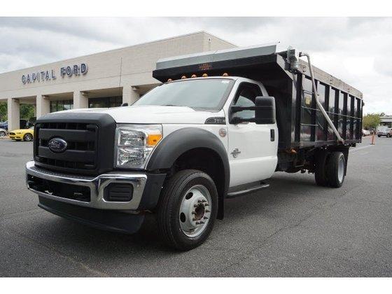 Ford Box Truck >> 2012 FORD F550 DUMP TRUCK in Charlotte, NC