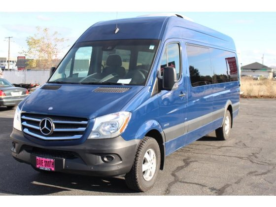 2015 mercedes benz sprinter 2500 bus in spokane wa usa for Spokane mercedes benz