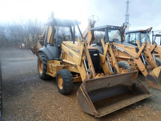 Case 580l Backhoe Seat : Case l ii rigid backhoes in paducah ky usa