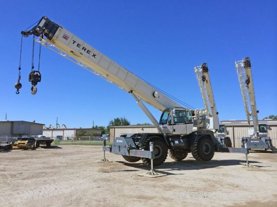 2011 Terex RT555-1 in Houston,