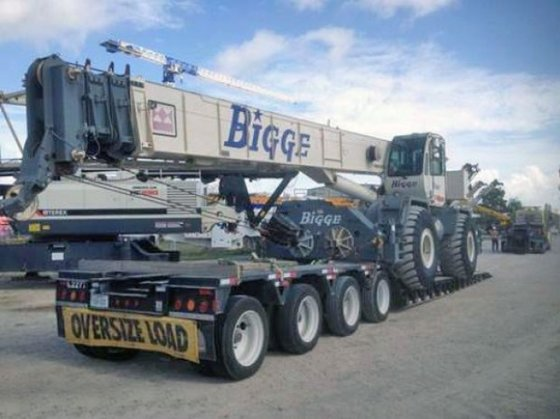 2007 Terex RT555 in Houston,