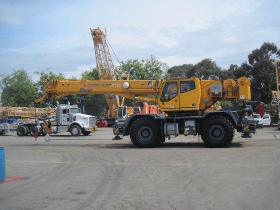 2011 Zoomlion RT55 in Houston,