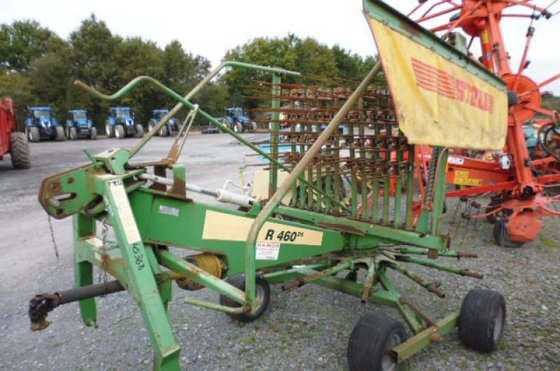 2005 Stoll R460DS Windrower in