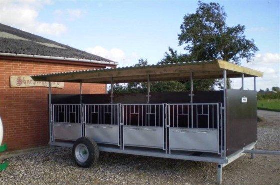 2016 Kalvevogn Fabriksny Cattle trailer