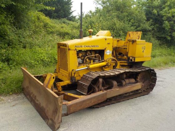 Allis Chalmers HD 4 Dozer in England, United Kingdom