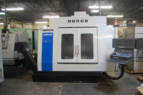 16177 2005 HURCO VERTICAL MACHINING