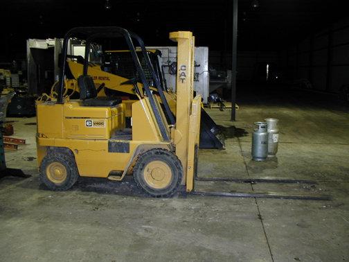Cat v40c Forklift Specifications