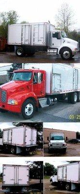 Explosive Magazine Transport Vehicles in
