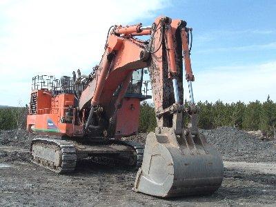 2004 Hitachi EX1900-5 in Canada