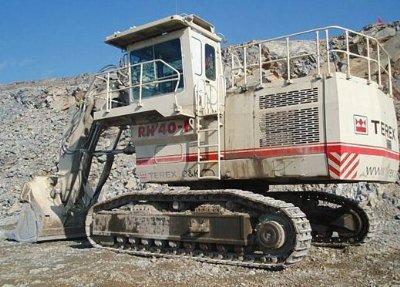 2006 Terex/O&K RH40F in Canada