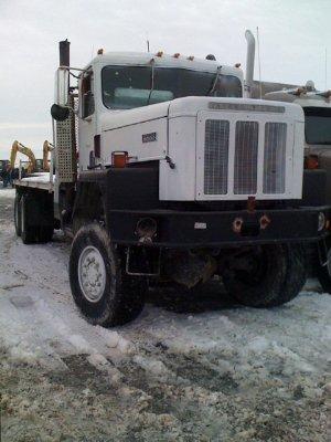 1986 International Paystar Drill Truck