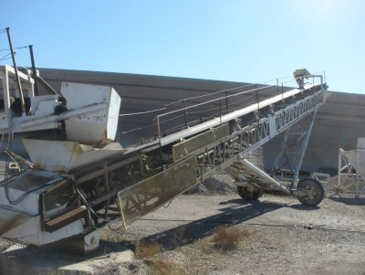 Radial Stacker Conveyors in United