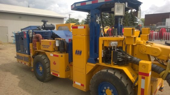 RDH Mining Equipment 100 in