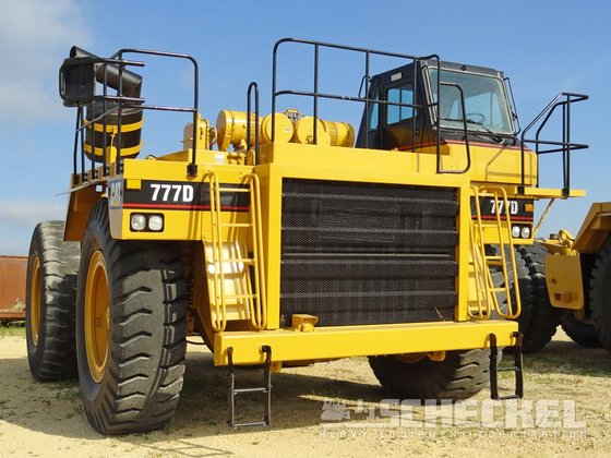 2001 Caterpillar 777D in United