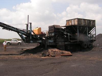 LB Smith Portable Crushing Plant