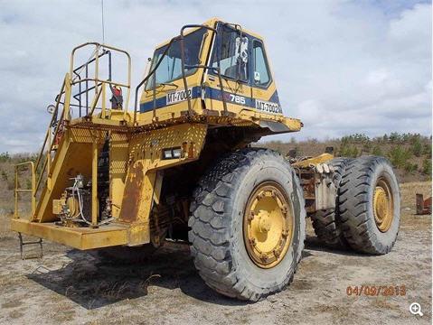 Komatsu HD785-3 Haul Truck in