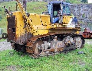 1993 Komatsu D275-2 Crawler Dozer