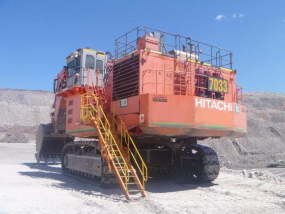 2003 Hitachi EX2500 12m3 in