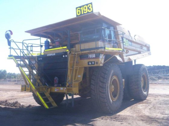 1994 Caterpillar 785B in Australia