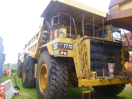 1993 Caterpillar 777C in Australia