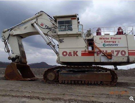 O & K RH170 in