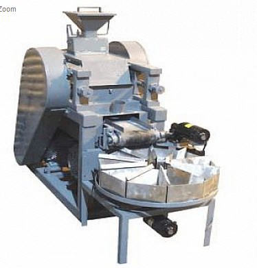TM Engineering Rolls Crusher Over