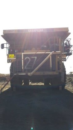 2012 Caterpillar 777D in South