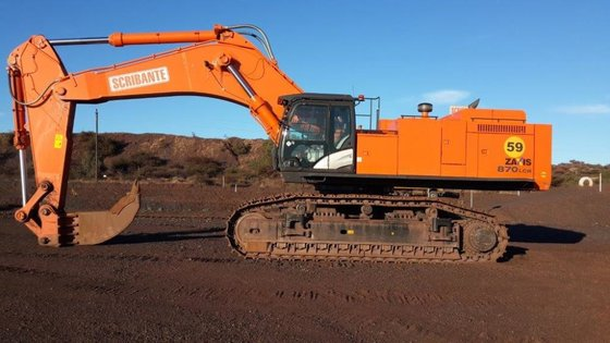2015 Hitachi ZX870-5 in South