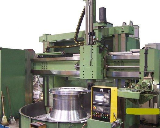 2000 Titan CNC VTL Siemens