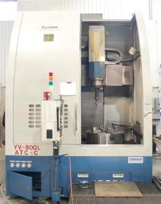 2001 You Ji YV-800L Fanuc