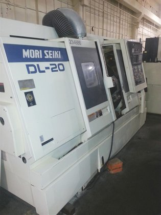 1997 Mori-Seiki DL20 Fanuc 16TT