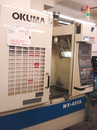1996 Okuma MX45VA OSP700M in