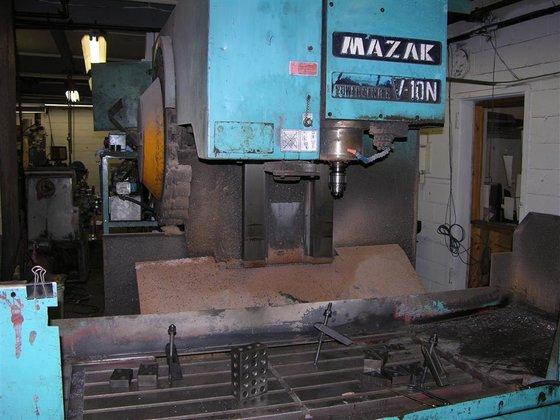 1981 Mazak Powercenter V10N Fanuc