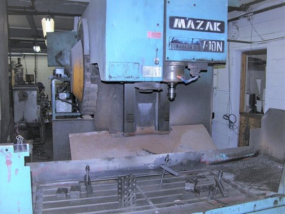 1981 Mazak Powercenter V10N Fanuc