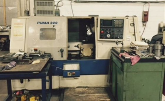 1998 Daewoo Puma 200LC Fanuc