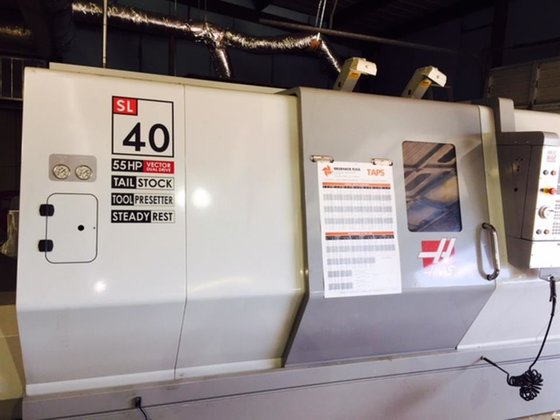 2009 Haas SL-40T CNC Control