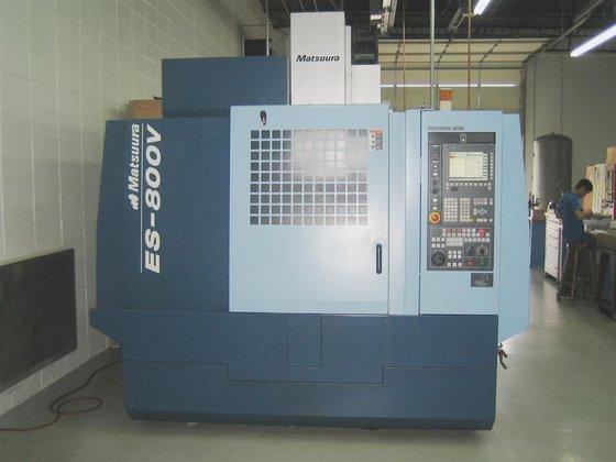 2006 Matsuura ES-800V G Tech