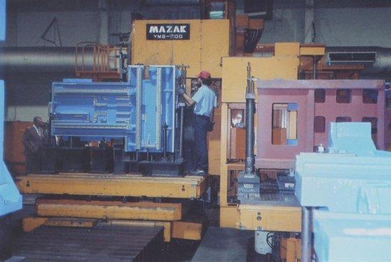 1986 Mazak YMS-H50Q Mazatrol M2