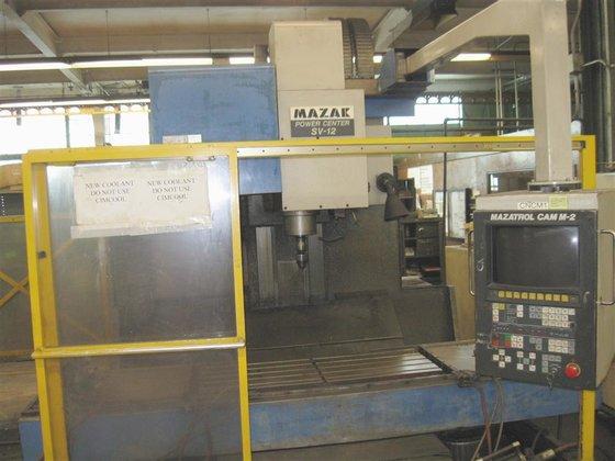 1986 Mazak Powercenter SV-12 Mazatrol